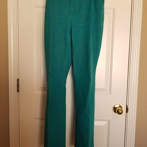 CHICOS Teal Jeans Size 2